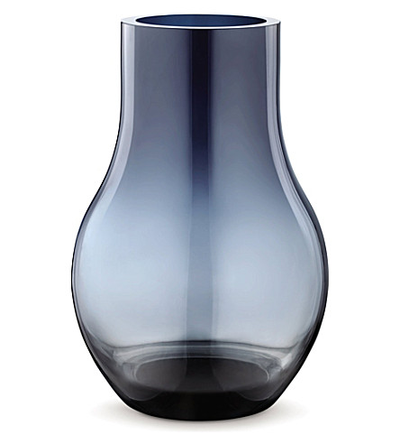 GEORG JENSEN Cafu glass vase medium