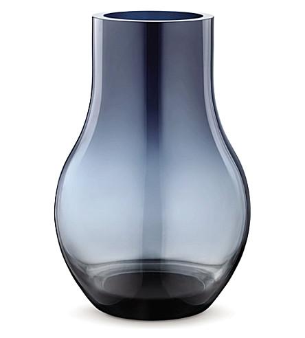GEORG JENSEN 卡福玻璃花瓶中等