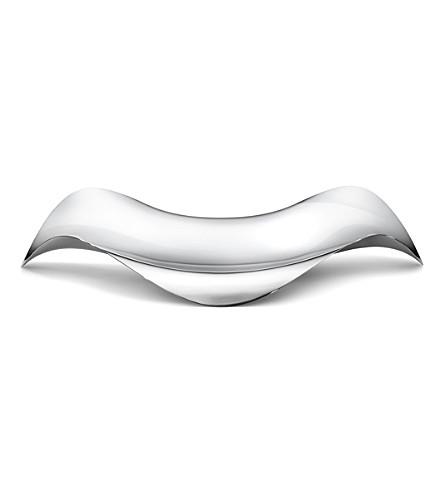 GEORG JENSEN Cobra stainless steel tray