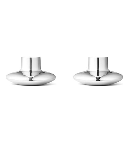 GEORG JENSEN Henning Koppel candle holder 2 pcs