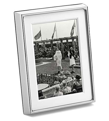 GEORG JENSEN Deco picture frame 6x4