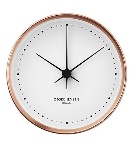 GEORG JENSEN Henning Koppel copper clock 15cm