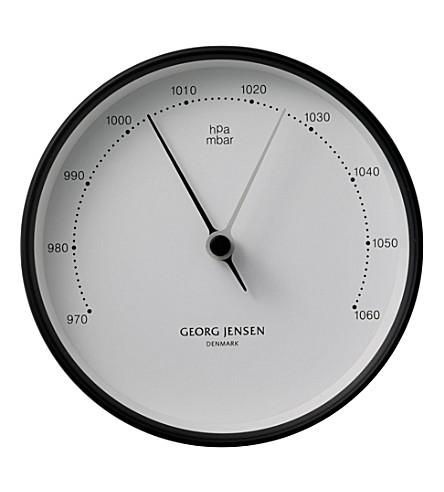 GEORG JENSEN Koppel stainless steel barometer 10cm