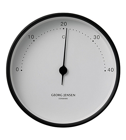 GEORG JENSEN Koppel stainless steel thermometer 10cm