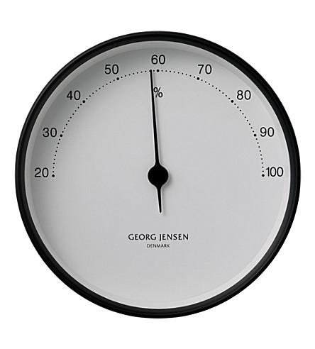 GEORG JENSEN Koppel stainless steel hygrometer 10cm