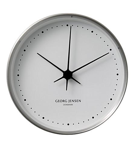 GEORG JENSEN 科佩尔不锈钢时钟22厘米