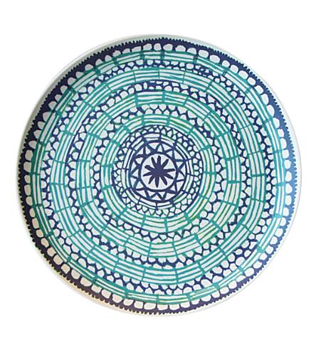 URBAN NATURE CULTURE Mandala bamboo plate 26cm
