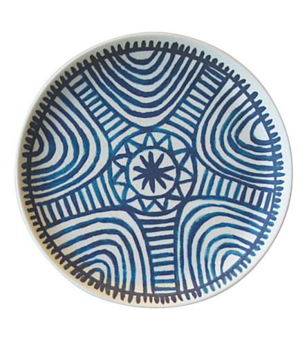 URBAN NATURE CULTURE African labyrinth bamboo plate