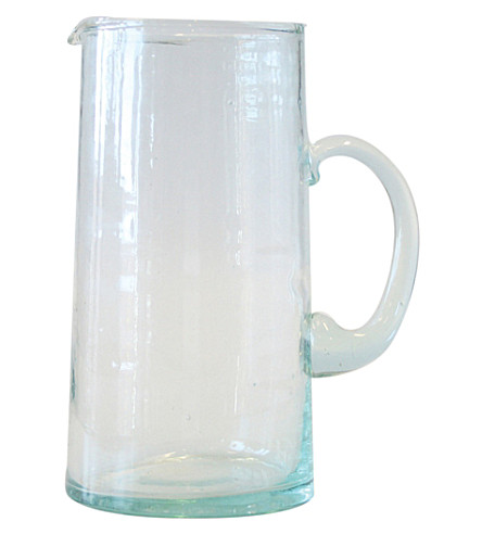 URBAN NATURE CULTURE Morocco recycled glass carafe