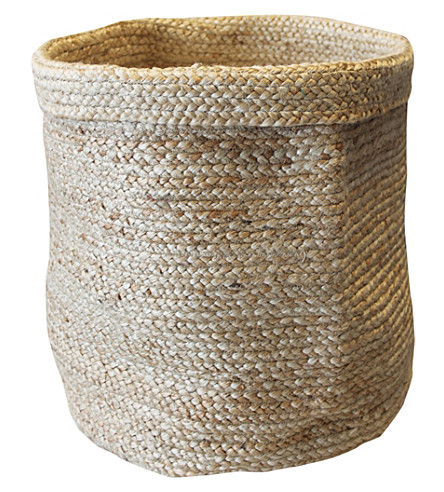 urban nature culture jute small storage bag. Black Bedroom Furniture Sets. Home Design Ideas