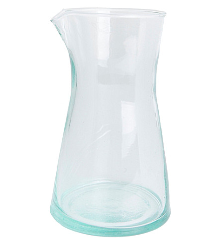 URBAN NATURE CULTURE Handmade recycled carafe