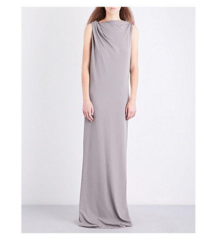 DRKSHDW Toga cotton-jersey gown (Grey
