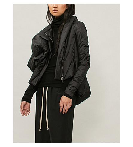 RICK OWENS Guimard 披尼龙软壳面料夹克 (黑色