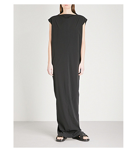 RICK OWENS Dagger shell tunic gown (Black