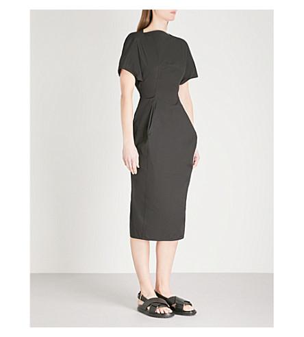 RICK OWENS Judith stretch-cotton dress (Black