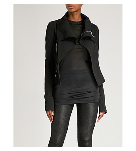 RICK OWENS Naska cotton jacket (Black