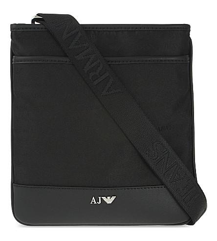 ARMANI JEANS Small messenger bag (Black