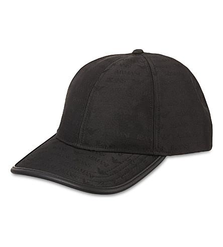 ARMANI JEANS Logo baseball cap (12