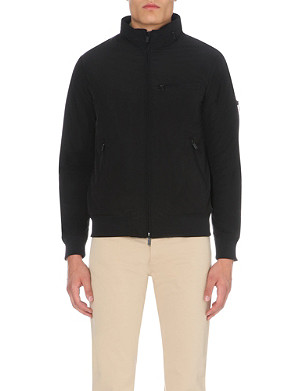 ARMANI JEANS Zip-up bomber jacket
