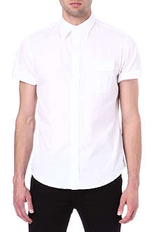 ARMANI JEANS Plain short sleeve shirt