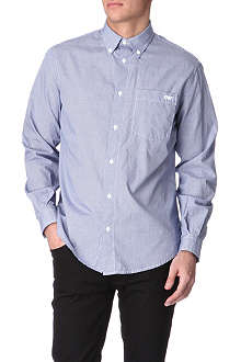 ARMANI JEANS Gingham regular-fit shirt