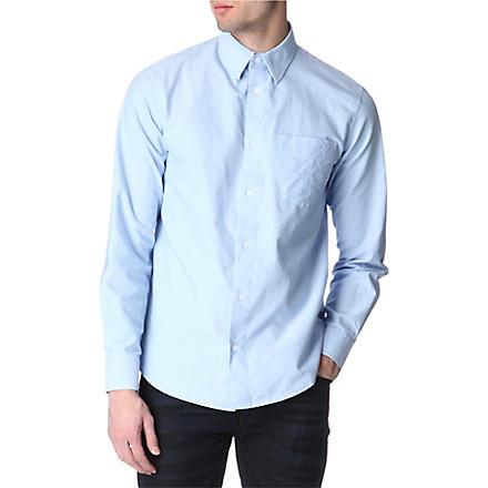 ARMANI JEANS Oxford regular-fit shirt (Sky