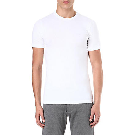 ARMANI JEANS Basic t-shirt (White