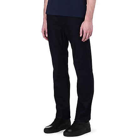 ARMANI JEANS Regular-fit straight jeans (Blue