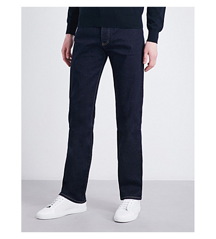 ARMANI JEANS Regular-fit straight jeans (Indigo