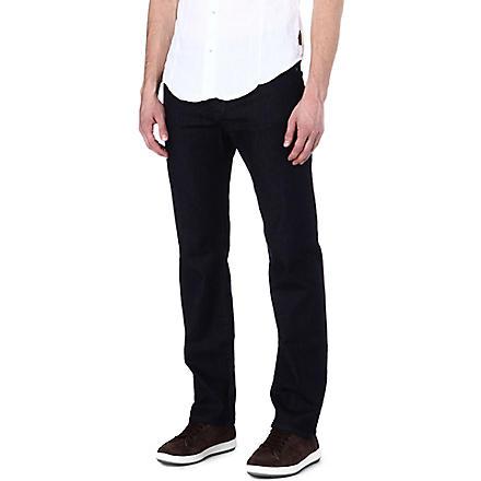 ARMANI JEANS Slim-fit straight jeans (Blue