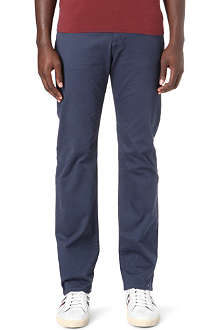 ARMANI JEANS Five-pocket gaberdine trousers