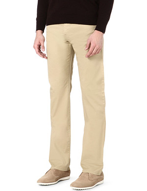 ARMANI JEANS Stretch-cotton trousers