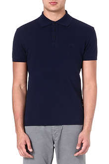 ARMANI JEANS Logo cotton-piqé polo shirt