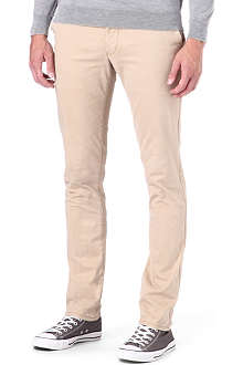 ARMANI JEANS Slim-fit straight chinos