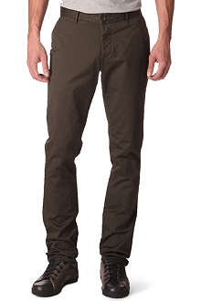 ARMANI JEANS Gabardine slim-fit trousers