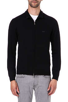 ARMANI JEANS Zip-up cardigan