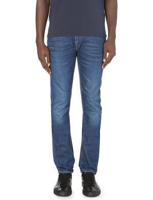 ARMANI JEANS J21 extra slim-fit tapered jeans