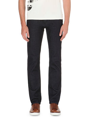 ARMANI JEANS J45 regular-fit tapered jeans