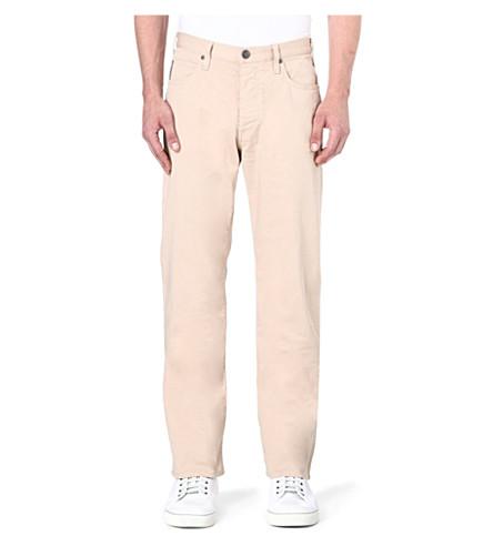 ARMANI JEANS Regular-fit straight jeans (Beige