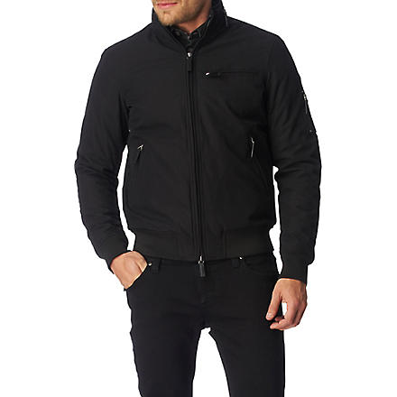 ARMANI JEANS Zip-up jacket (Black