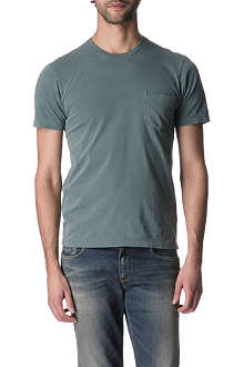 ARMANI JEANS Plain pocket-detail t-shirt