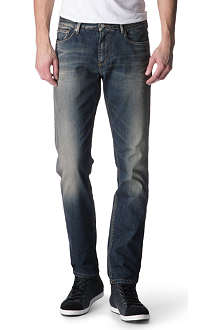 ARMANI JEANS J06 slim-fit low-rise jeans