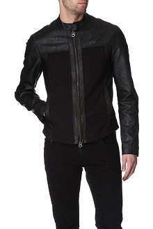 ARMANI JEANS Eco faux-leather jacket