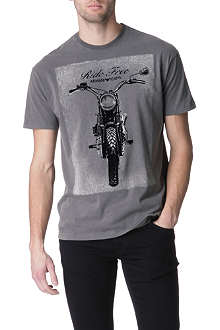 ARMANI JEANS Flock bike t-shirt