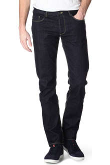 ARMANI JEANS J17 slim-fit straight jeans
