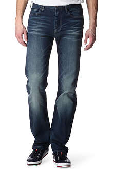 ARMANI JEANS J21 regular-fit straight jeans