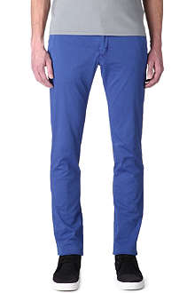 ARMANI JEANS Cotton-twill trousers