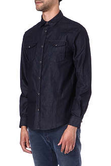 ARMANI JEANS Clean denim shirt