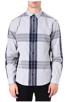 ARMANI JEANS Big check shirt