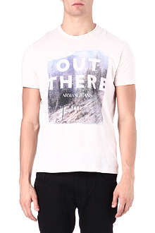 ARMANI JEANS Out There t-shirt